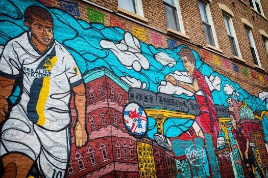 MLS-Soccer-Mural